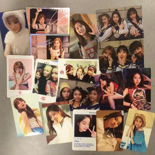 TWICE PHOTOCARD CLEARANCE