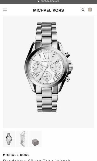 Michael Kors Bradshaw Watch - Authentic