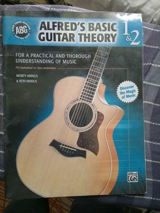 Alfred' basic guitar theory 1 & 2