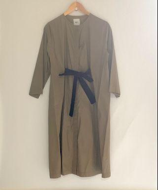 BRAND NEW OLIVE SHIRT DRESS