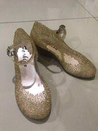 Bling Gold shoes
