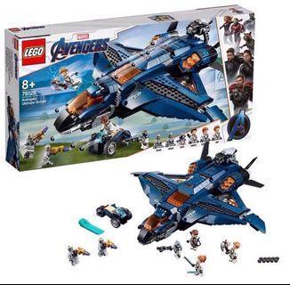 🚚 LEGO 76126 quinjet