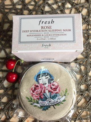 Fresh Rose Deep Hydration Sleeping Mask 2x35ml