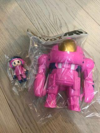 P.P.Pudding 機器人和戰鬥員