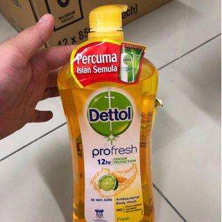 Dettol Pro Fresh + 250ML Free Refill Pack