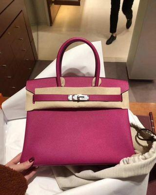 Hermes Birkin 30cm L3 rose purple Epsom PHW c刻