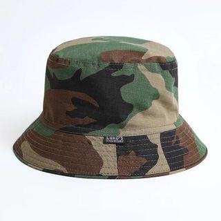 Vintage Camo Bucket Hat #1