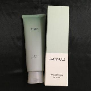 韓律 Hanyul pure artemisia clay to foam 嫩艾草潔面泥 170ML