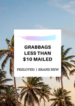 $5 / $8 / $10 / $25 grabbag sales!