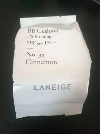 Laneige BB Cushion Whitening Cinnamon No.33 Refill