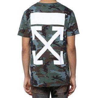 Off White 19FW Camouflage Tee
