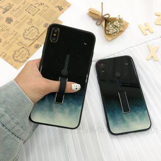 Starry Night Fingerloop Strap Kickstand Phone Case