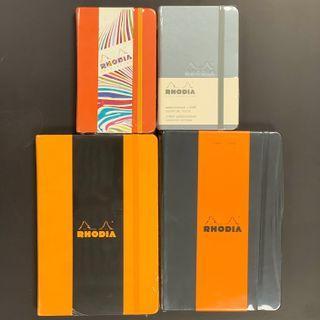 (鋼筆墨水用紙) Rhodia Webnotebook A5 size pocket size #MTRcentral