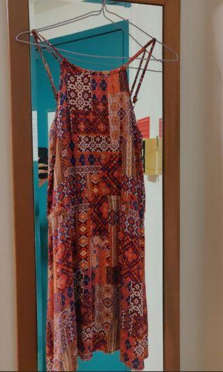 Elastic Tribal Dress