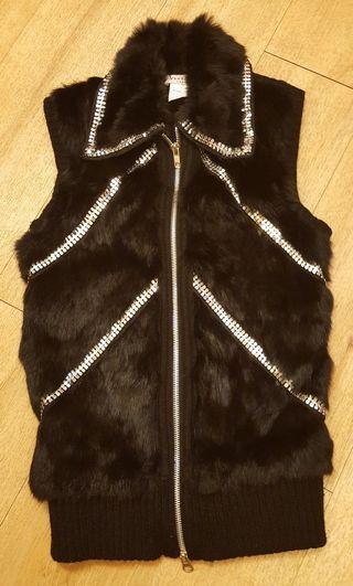 🚚 兔毛/羊毛織品背心