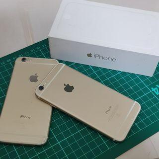 2隻 I6手機 當零件機賣 會修的拿去修 2隻一起賣
