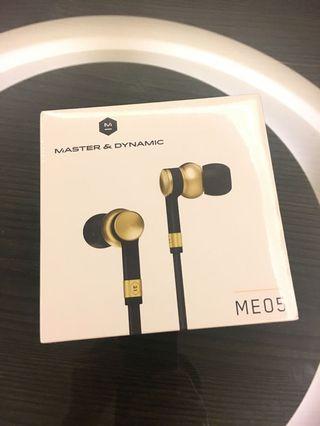 (全新) Master&Dynamic ME05耳機
