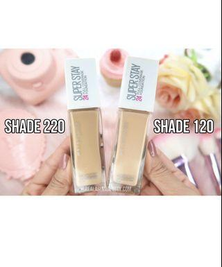 Maybelline Super Stay Foundation in 120 Classic Ivory