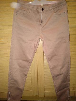 Celana zipper nude