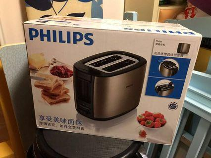 Philips 多士爐 (全新)