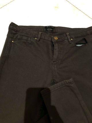 Mossimo Dutti low waist black jeans