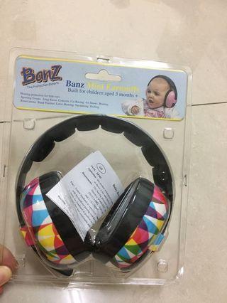 🚚 Baby banz 只拆封過全新嬰兒耳罩
