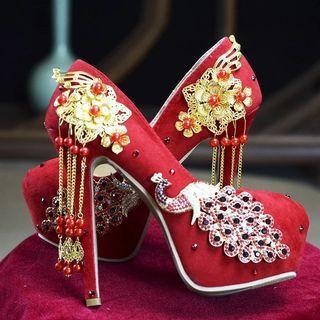 🚚 Wedding / Chinese Kwa / Kua / Qua Shoes / Heels