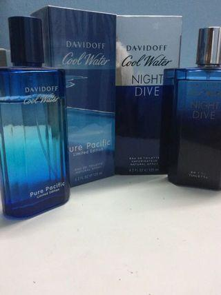 [Free Shipping] Davidoff Cool Water/Night Dive