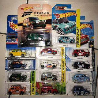 Hot Wheels Morris Mini Lot