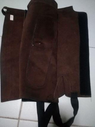 Half Chaps ,Full leather
