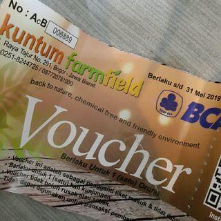 New! Kuntum Farmfield Ticket