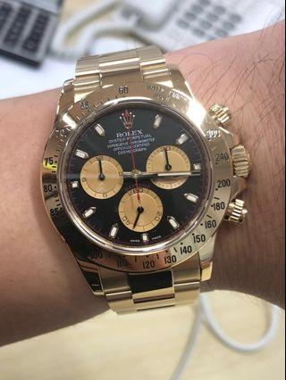 Rolex Daytona Full Gold Paul Newman - 116528