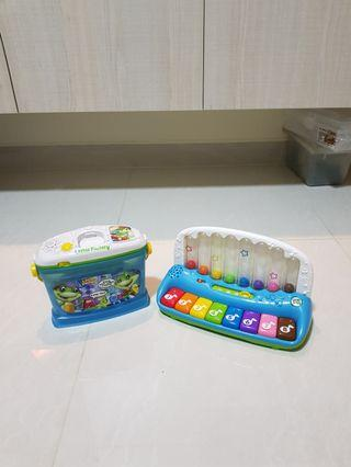Leap Frog piano and letter factory