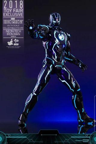 Hot Toys Iron Man Neon Tech