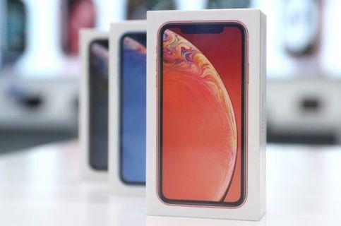 Apple iPhone XR 64G (紅) 全新未拆 加送手機空壓殼 玻璃貼  保固一年  土城或士林,北投面交
