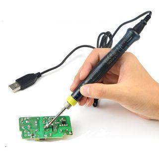 全新 Mini USB Soldering Iron Pen 小型辣雞 電烙鐵