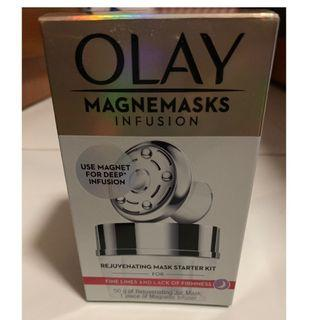 🚚 Olay Magnemasks Infusion - Rejuvenating Mask starter Kit