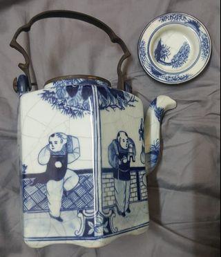 古老中国茶壶
