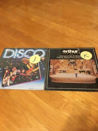 舊唱片二張