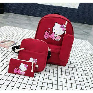 Cutie Hello Kitty 4 in 1 Bag