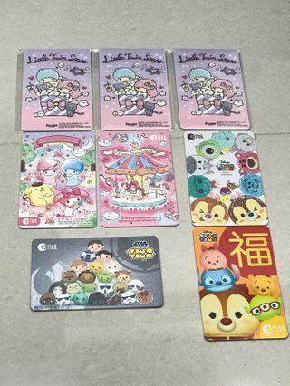 🚚 Sanrio Tsum Star Wars CNY Disney Melody Hello Kitty Little Twin EZ-Link Card