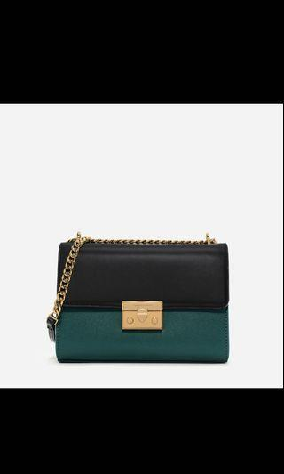 Bags Charles n Keith structured cluth