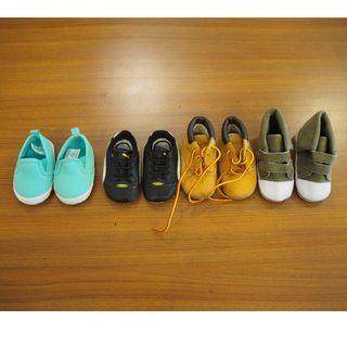 🚚 4雙嬰兒學步鞋 軟底鞋