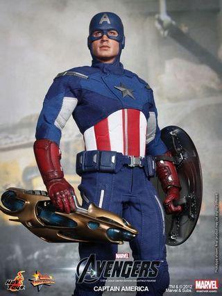 Hot Toys MMS174 Marvel Avengers Captain America not predator Aliens