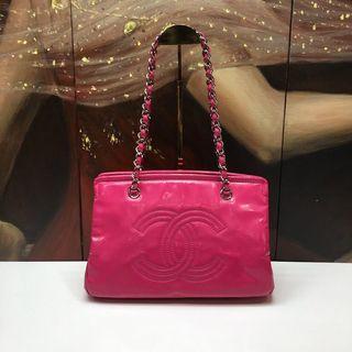 Authentic Pre-loved Chanel CC Logo Shoulder Bag