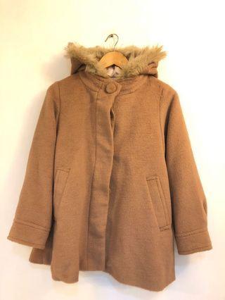 NEW Japan 呢毛 大褸 Brown Jacket #prettyme