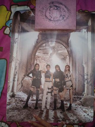 Official Double-Side Poster BLACKPINK