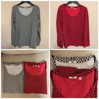 Wore 1x only - Authentic Uniqlo ladies longsleeve top size L