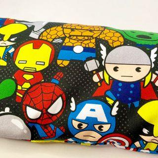 🌈 Bean Sprout Husk Pillow / Beanie Pillow ( 100% Handmade 100% Cotton , Premium Quality!) size 15 x 40cm Marvel super hero