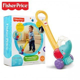 Fisher Price Pop and Push Elephant